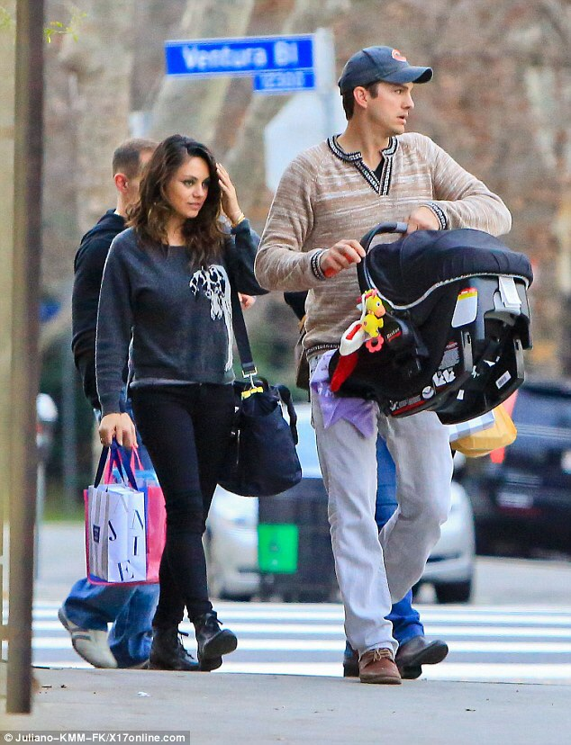 Mila Kunis And Ashton Reveal Baby No. 2': Meet Dimitri ...