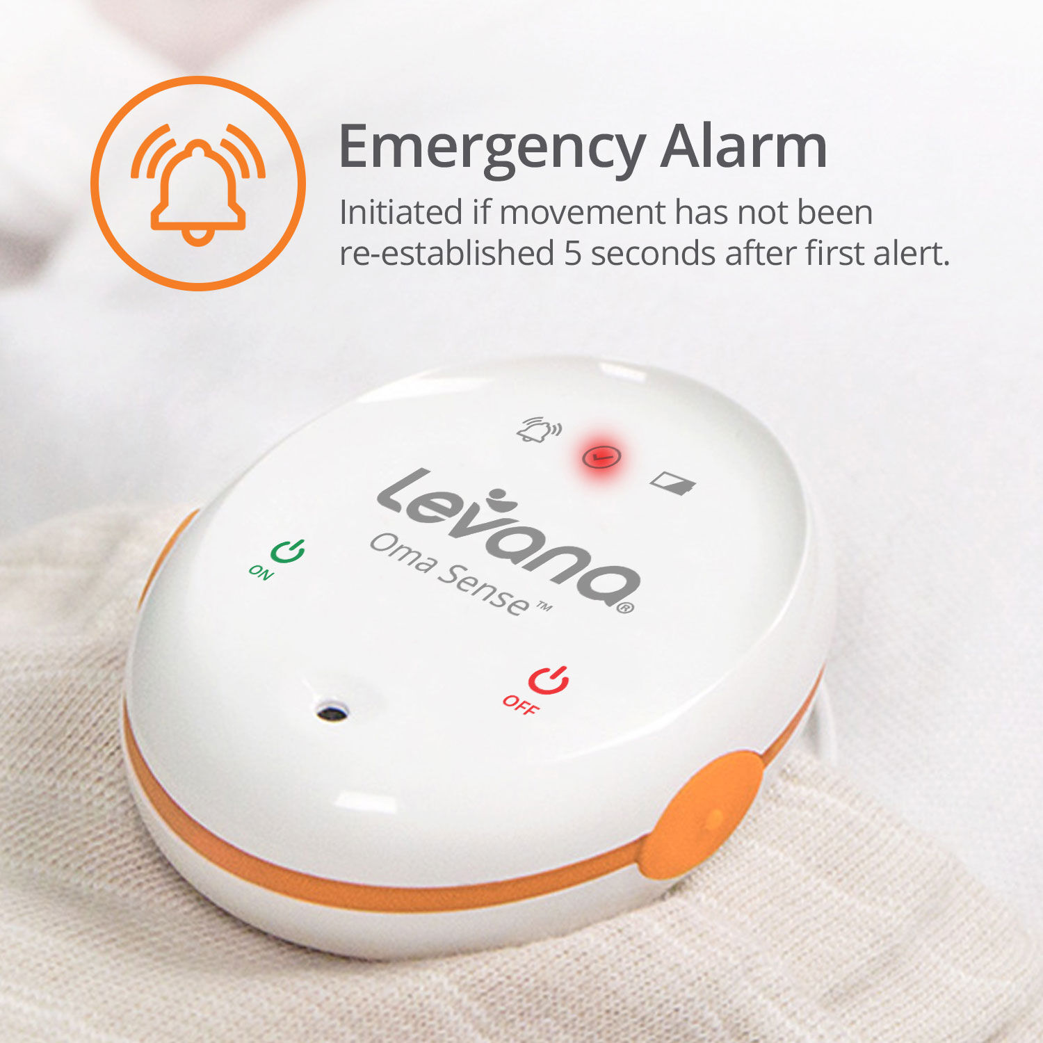 Babies R Us Aden And Anais Levana Oma Sense Baby Breathing Movement Monitor With