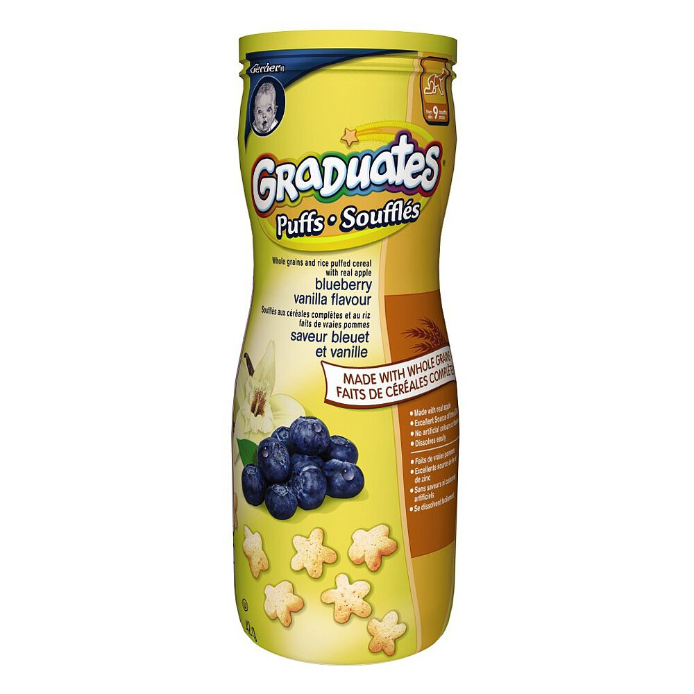 Baby Gates Babies R Us Canada Gerber Graduates Puffs Blueberry Vanilla Flavour Babies