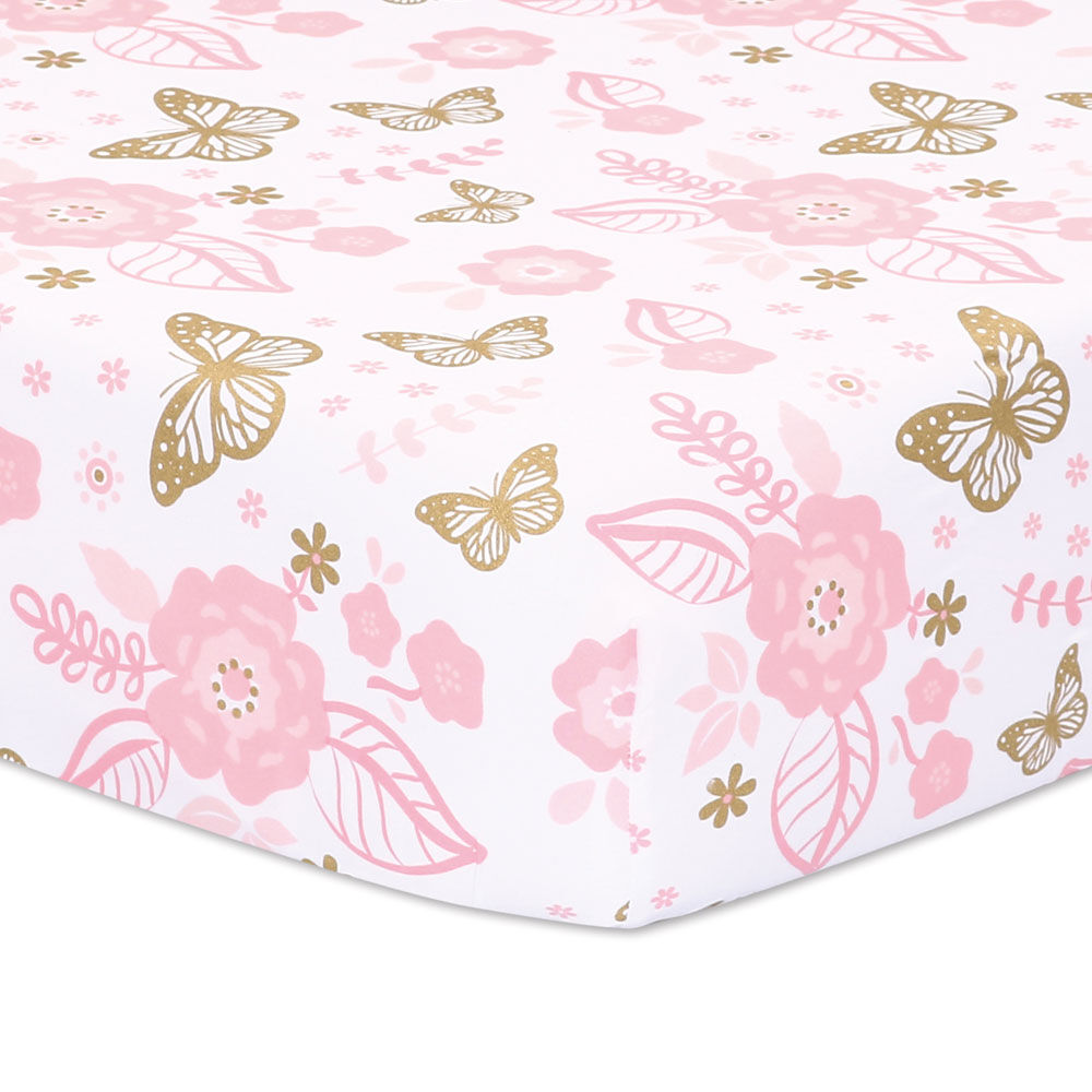 Babies R Us Video Monitors Belle Butterfly Dreams 3 Piece Crib Bedding Set R