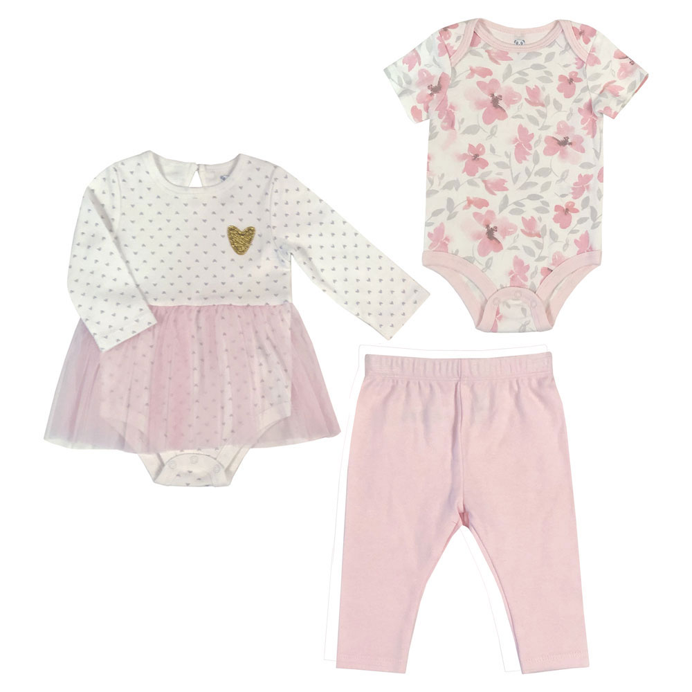 Baby Gates Babies R Us Canada Rococo 3 Piece Bodysuit Cupcake Dress And Legging Set