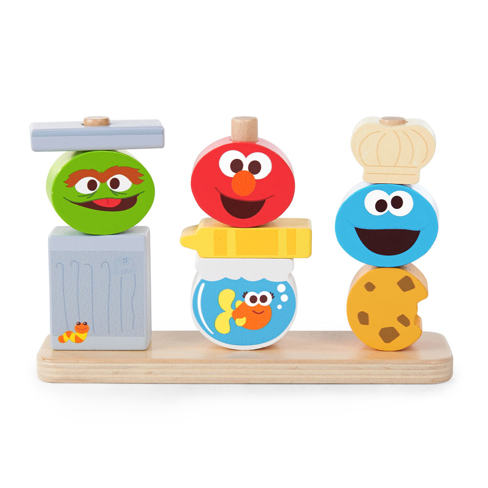 Baby Gates Babies R Us Canada Mix Match Sesame Street Friends Wooden Stacking Toy