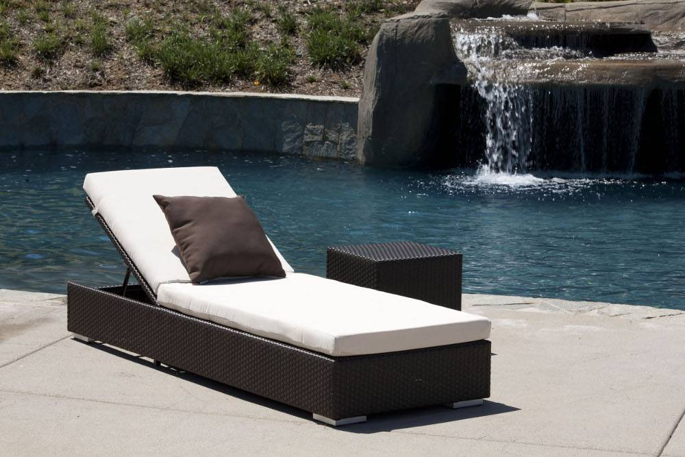 Lounge Sofa Rattan Mandarin Chaise Lounge | Lawn Furniture Sets | Babmar.com