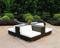 Swing 46 Corner Outdoor Modular Furniture Seating Set ...