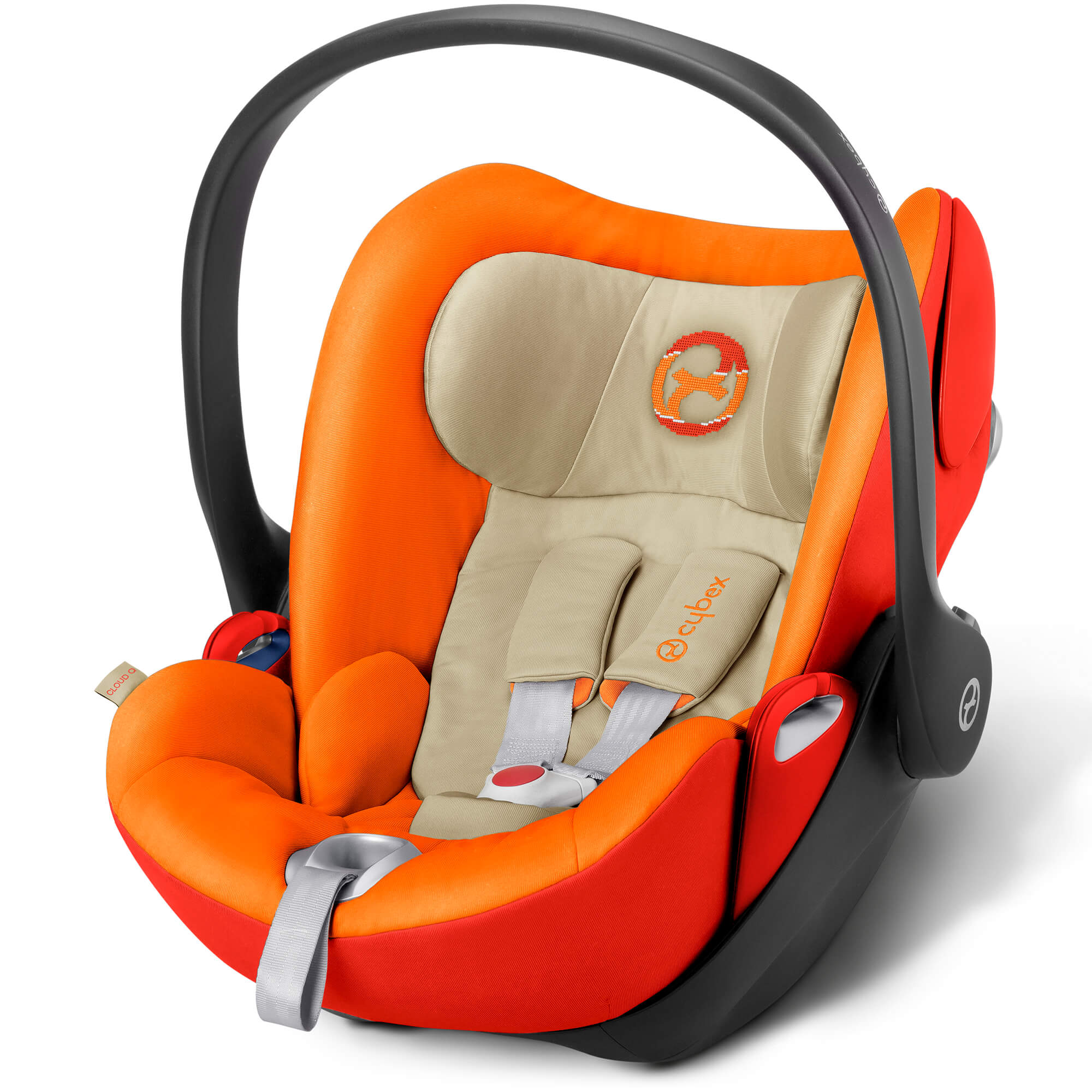 Buggy Test Warentest Cybex Cloud Q Autumn Gold Infant Carrier