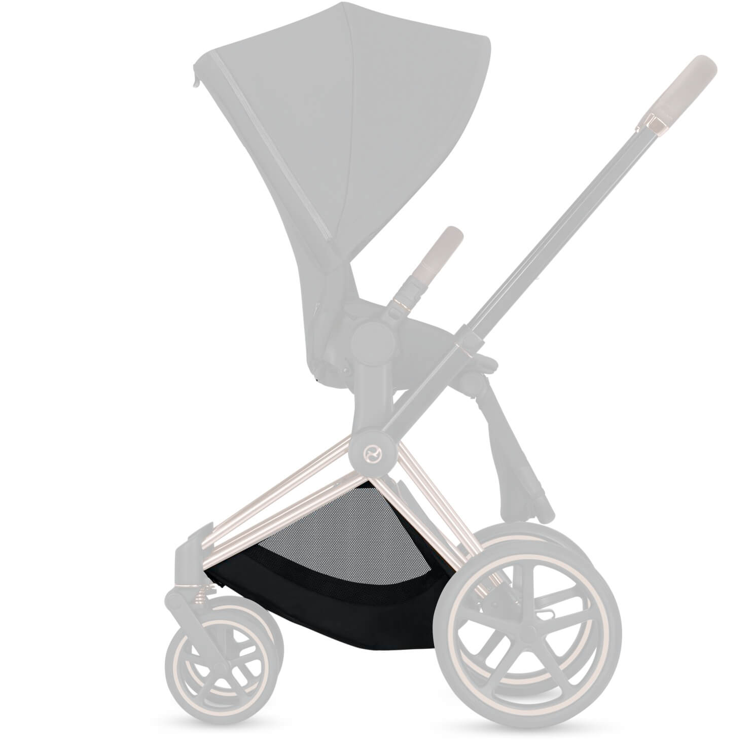 Cybex Stroller Support Cybex Shopping Basket For Priam Stroller Black