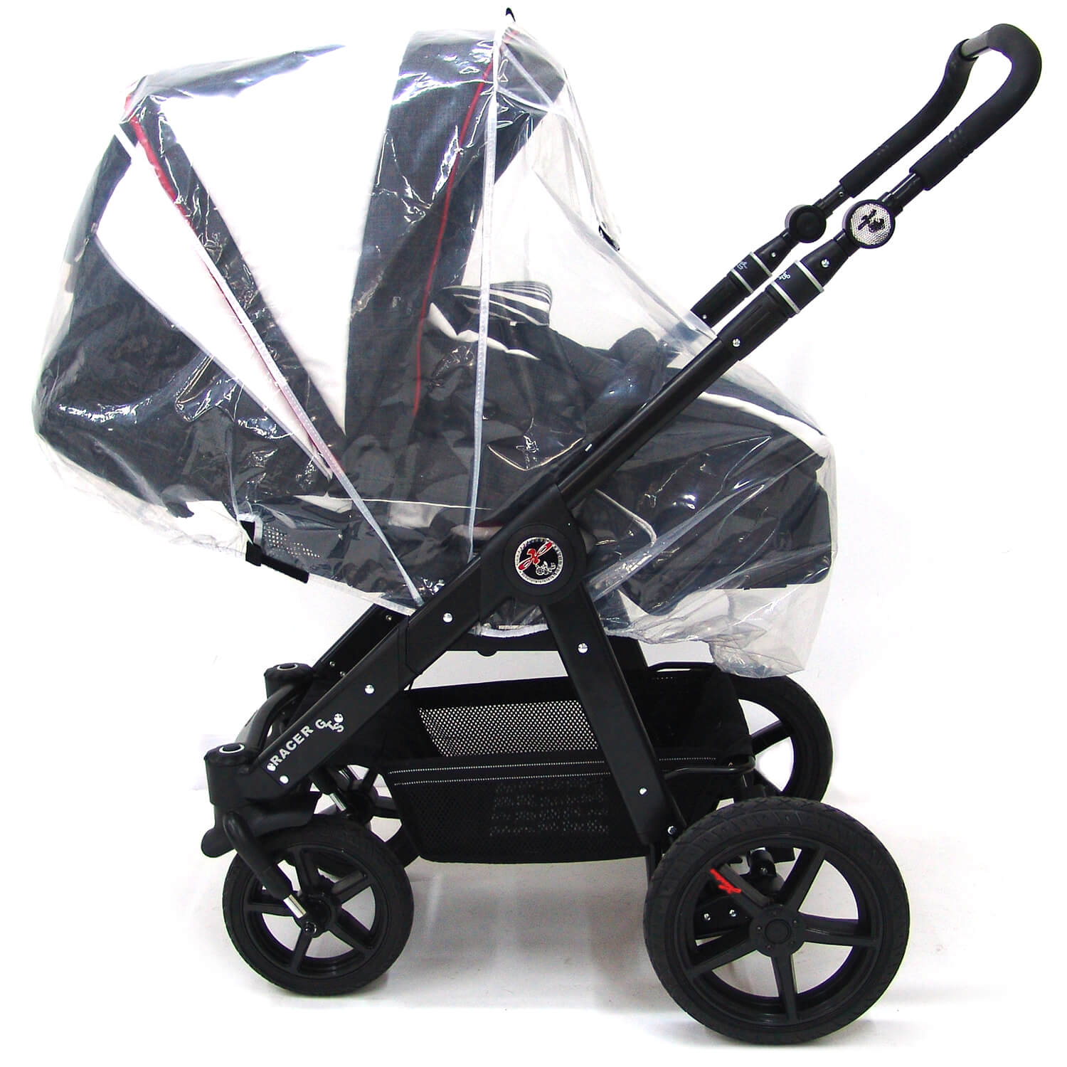 Hartan Baby One Rain Cover For All Hartan Stroller Universal Use With Bag