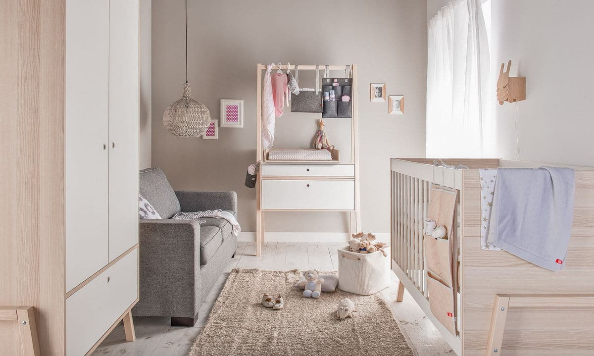Meuble Transformable Baby Vox Spot Baby - 2 Meubles - Lit 140x70, Armoire