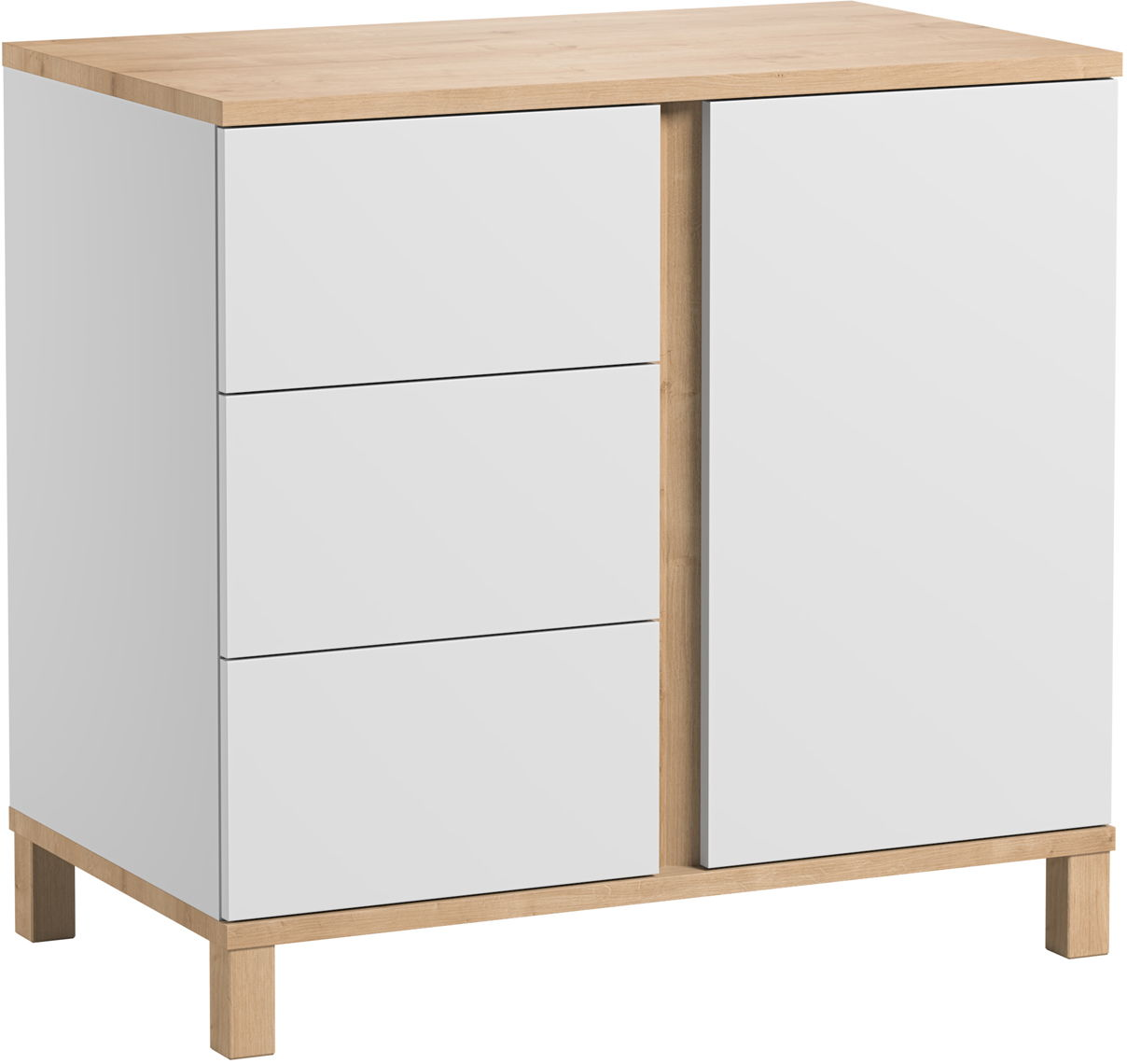Meuble Vox Baby Vox Altitude Blanc 2 Meubles Commode Armoire 2