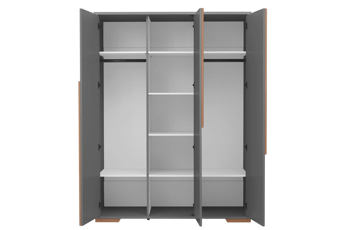 Kommode 120x60 Pinio Snap Gris 5 Meubles Lit 120x60 Commode Armoire