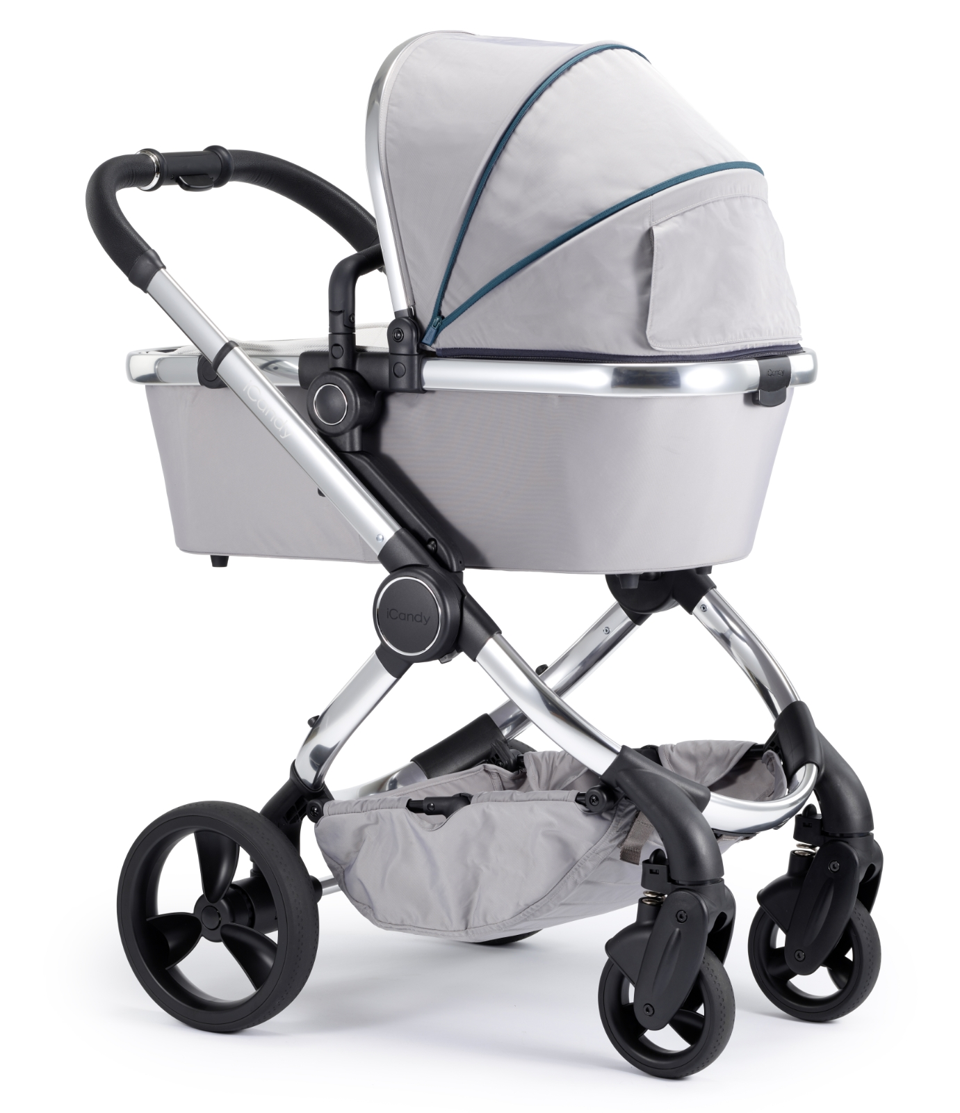 Joie Buggy Chrome Test Icandy Peach Chrome Pushchair And Carrycot Dove Grey
