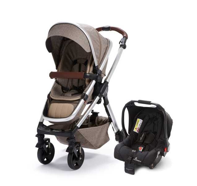 Buggy Pushchair Coffee Baby Elegance Venti Travel System Coffee Babyaccessories