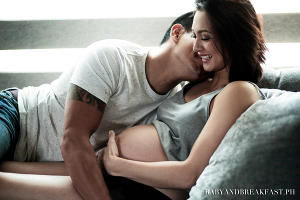 Drew and Iya shares their adorable maternity shoot