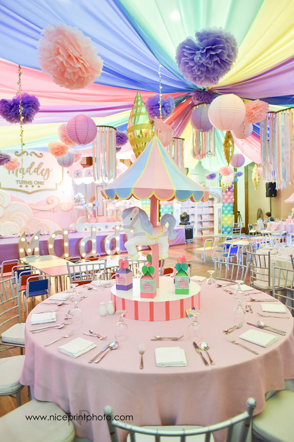 Carousel Pink Birthday Bash Philippines Mommy Family Blog