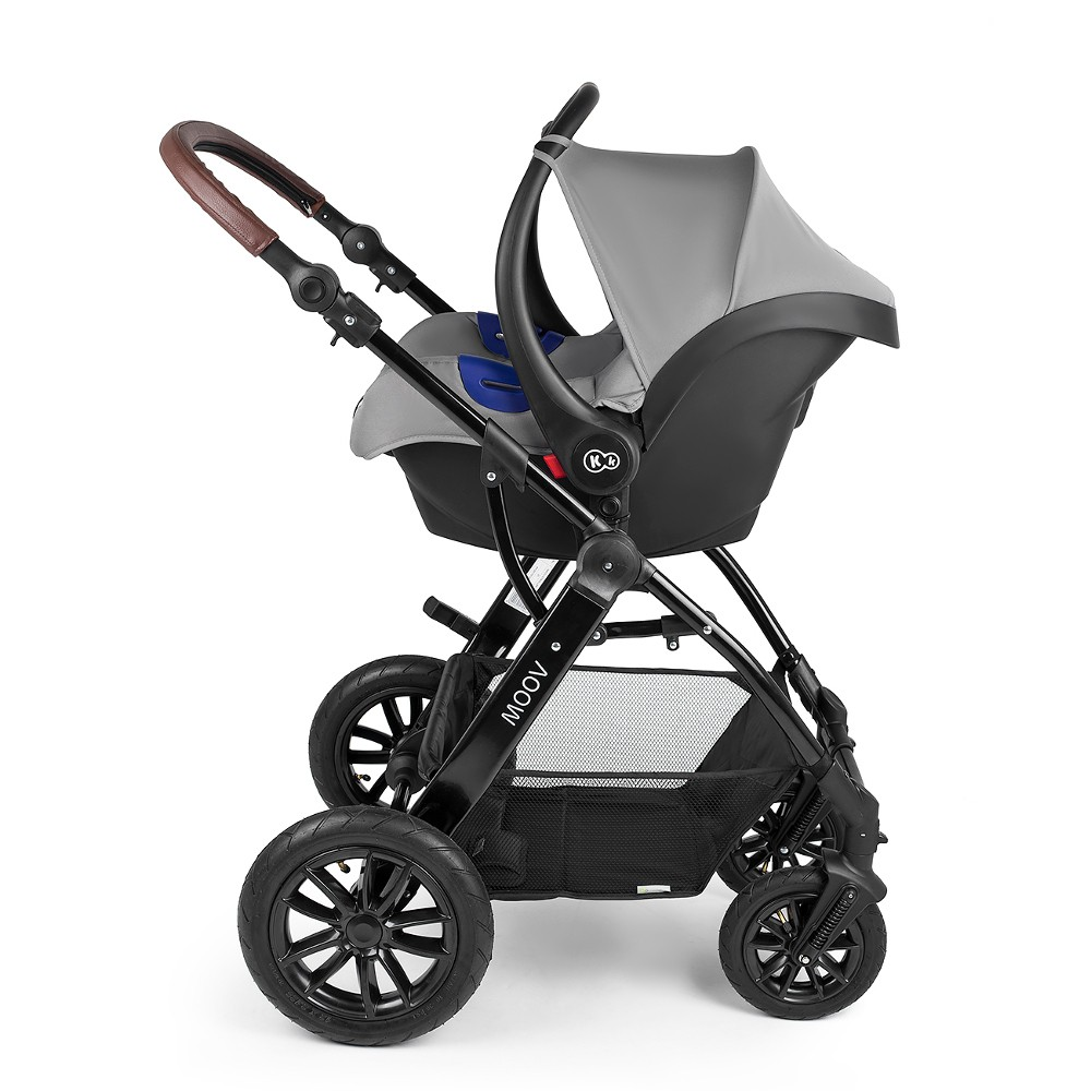 Travel System With Convertible Car Seat Kinderkraft Moov Travel System Grey