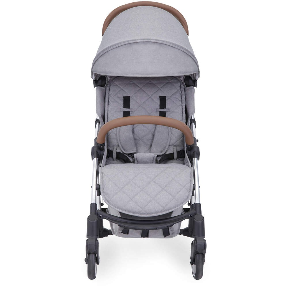 Hauck Buggy Cars Ickle Bubba Globe Prime Stroller Grey On Silver Frame