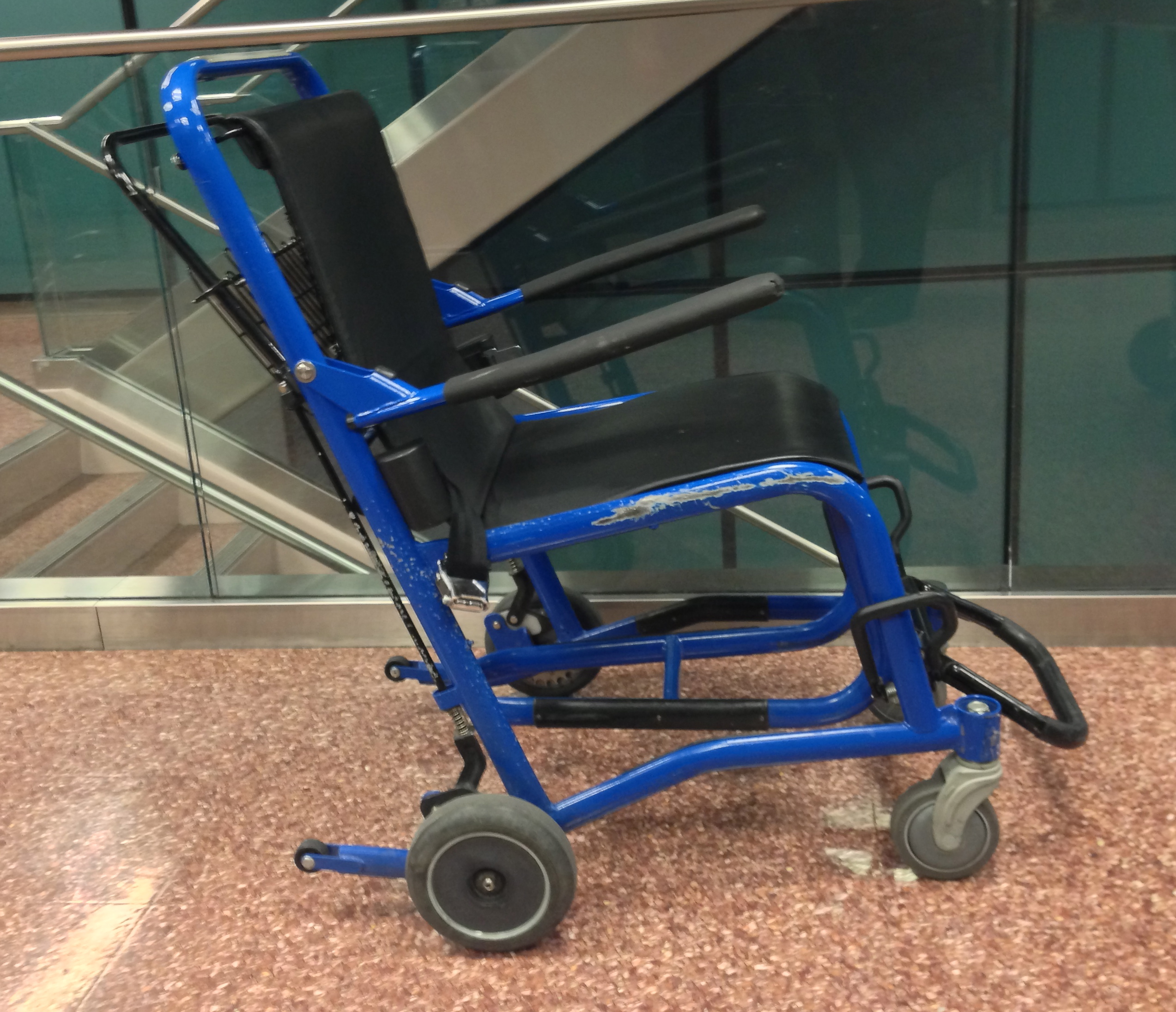Navigating The Airport In A Wheelchair The Baby Aspirin