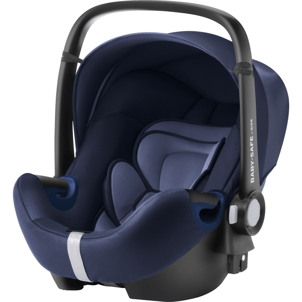 Baby Car Seat Uk Britax Britax Baby Safe² I Size Baby Car Seat Moonlight Blue