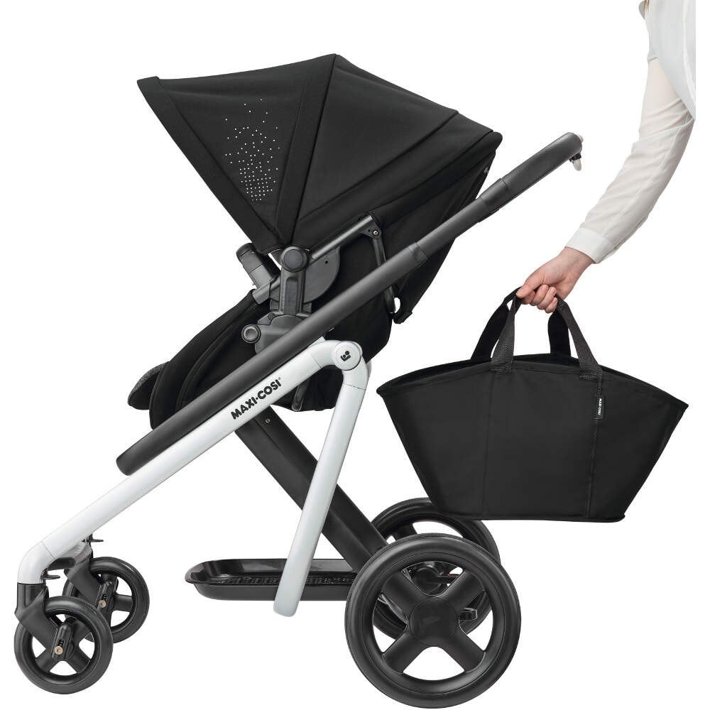 Britax Duo Twin Dolls Buggy Hot Pink Maxi Cosi Maxi Cosi Lila Pram Pushchair Nomad Black