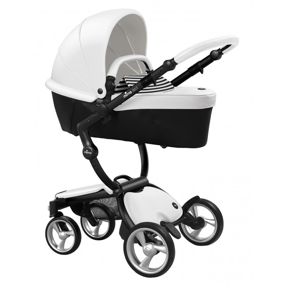 Mima Xari Seat Box 2 Snow-white Xari 3 In 1 Pushchair Snow White Black Chassis
