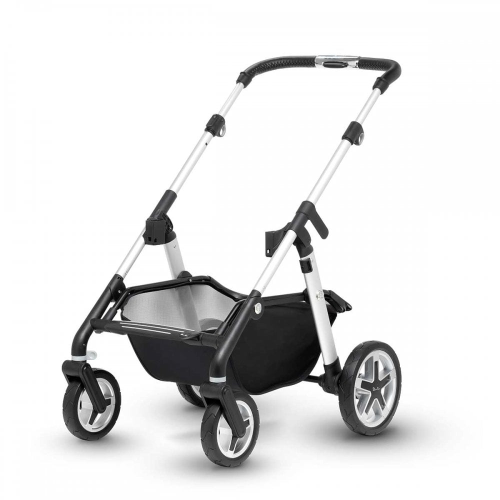 Silver Cross Pushchair Replacement Parts Silver Cross Pioneer Chassis And Seat Unit Aluminium From