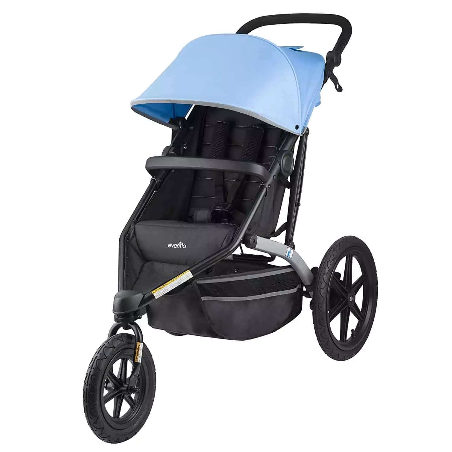 Jogging Stroller How To Use Stroller Brand Review Evenflo Baby Bargains