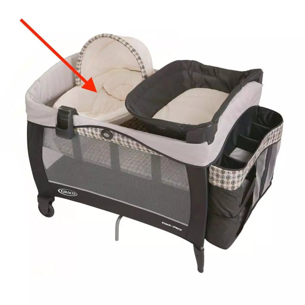 Newborn Bassinet Best Play Yards With Newborn Nappers Safe Or Not Baby Bargains