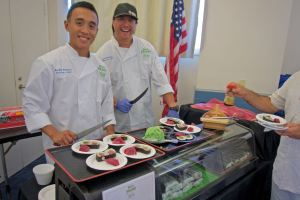 Sushi on a Roll at the 2016 Farm to Bay at the Living Coast Discovery Center
