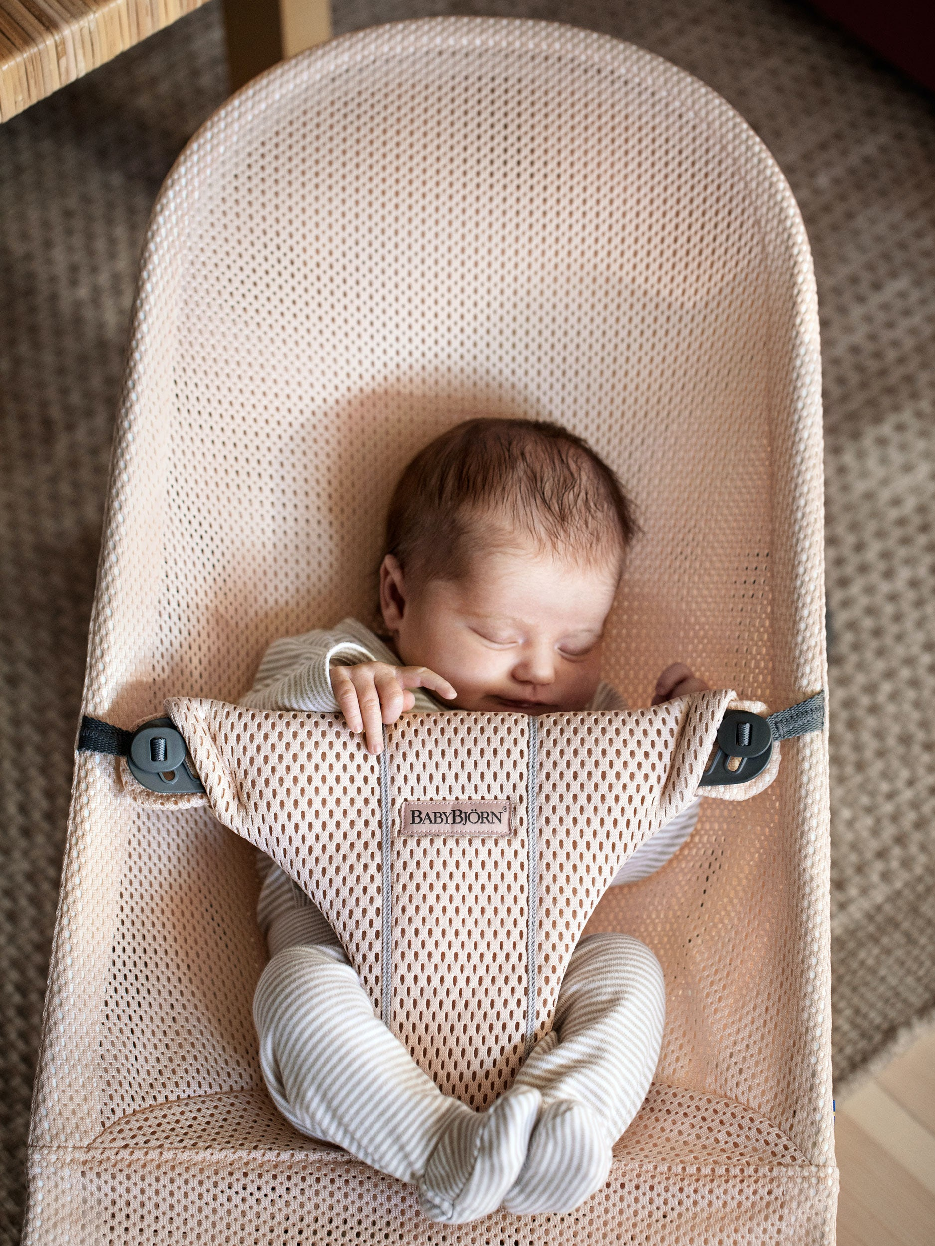 Infant Rocker Carrier Bouncer Bliss Cosy For Newborn Babies BabybjÖrn