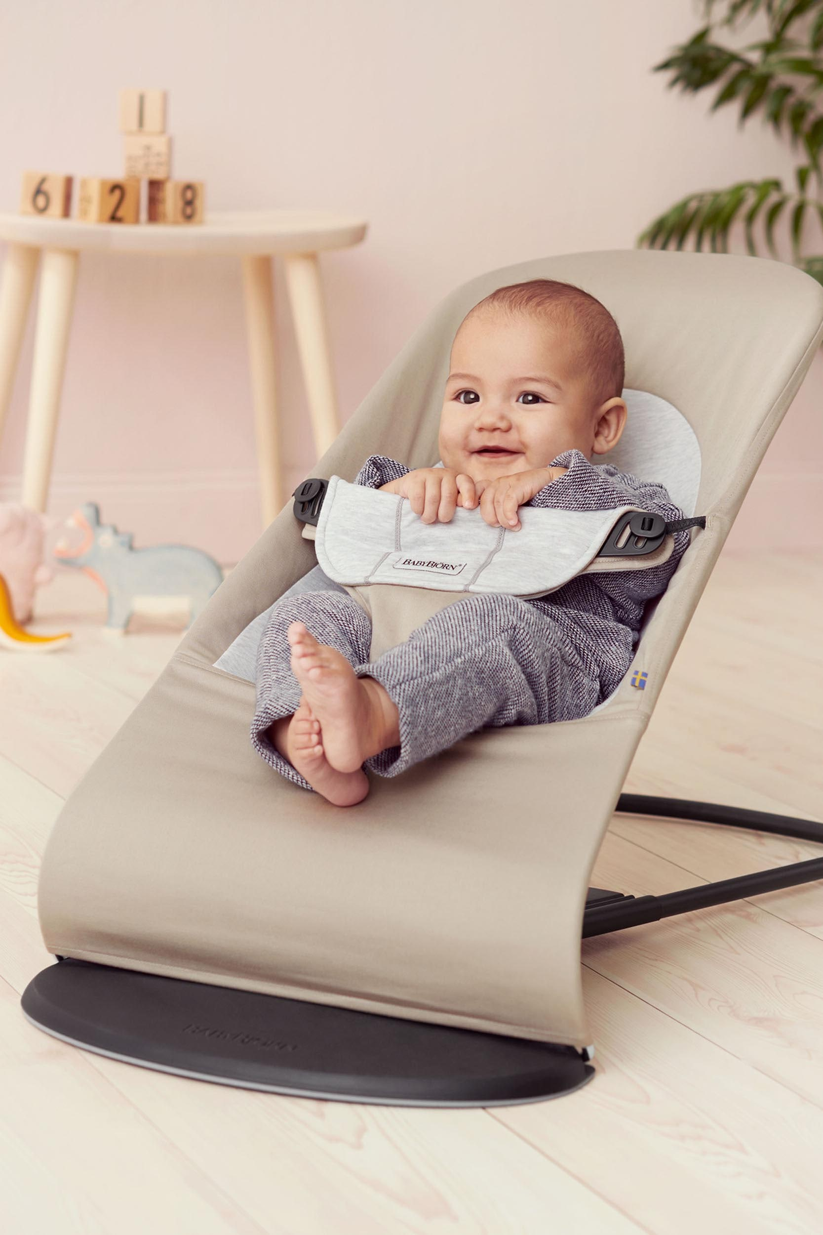Infant Learning Chair Balance Soft An Ergonomic Baby Bouncer BabybjÖrn