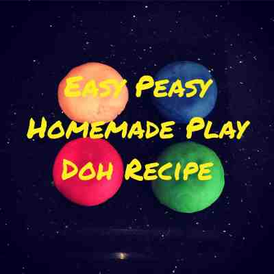 Easy Peasy Homemade Play Doh