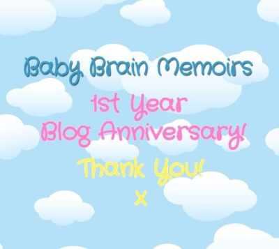 My 1 Year Blog Anniversary!