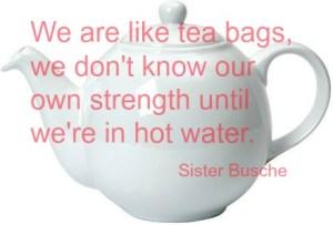 Sunday Inspiration; Teabags