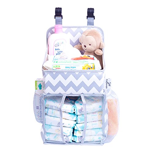 Baby Cradle Hanging Toys Hanging Diaper Caddy Baby Essentials Organizer For Crib