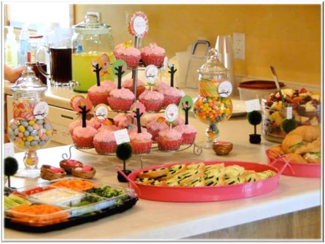 Baby Shower Food Table Decorations