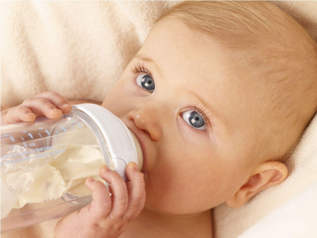 Infant Baby Not Drinking Milk Will My Baby Sleep Better If I Add Cereal To His Bottle At