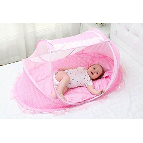 Bersun Travel Crib Baby Tent Baby Bed Instant Pop Up