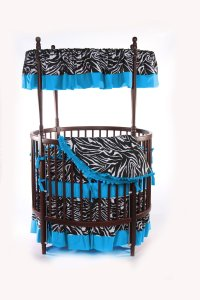 Round Crib: 17 Adorable Nursery Designs With Circular Crib
