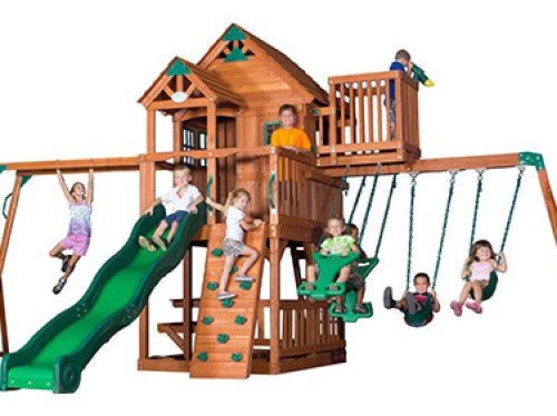 best-residential-swing-sets
