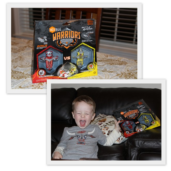Hexbug review Hexbug Warriors: Battling Robots {Review}
