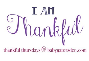thankful thursday1 Thankful Thursday