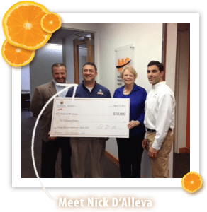 nick Orange Support for MS & Edible Arrangements Giveaway