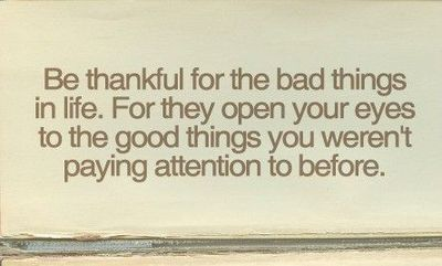 gratitude for bad stuff Thankful Thursday or Cranky Thursday