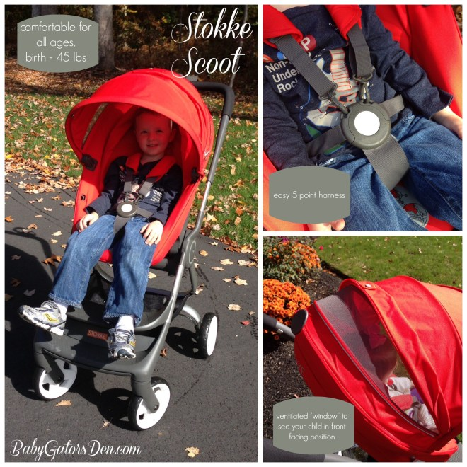harness1 660x660 Stokke Scoot Review & Giveaway