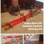 Angry Birds Go! Telepods Pig Rock Raceway Set {Review & Giveaway}