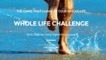 Ready for a challenge? Join me for the Whole Life Challenge.