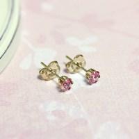 Kids Birthstone Earrings - Children's Birthstone Earrings