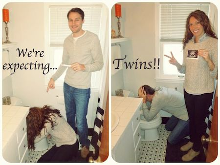 Cute Pregnancy Announcements Baby Gizmo