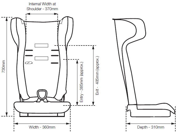 harness booster seat