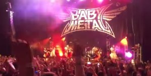babymetal メキシコライブ